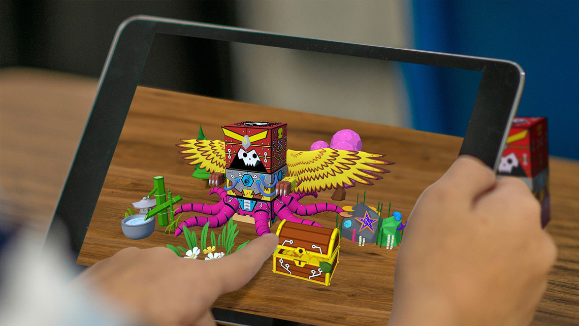 Augmented reality educational toys and gifts