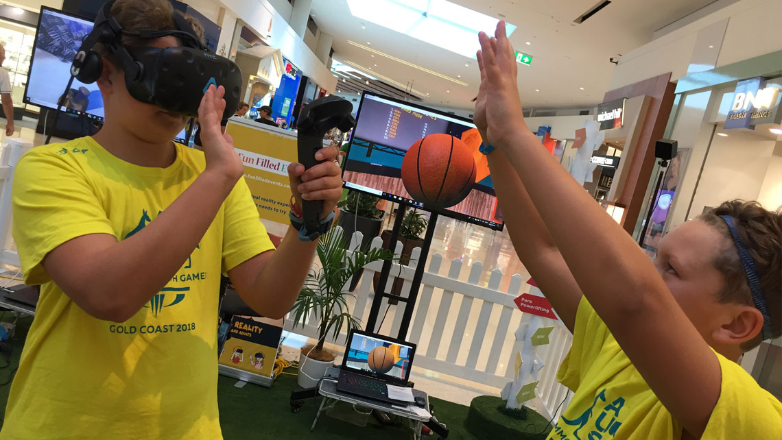Virtual reality sports to celebrate 2018 Gold Coast Commonwealth Games